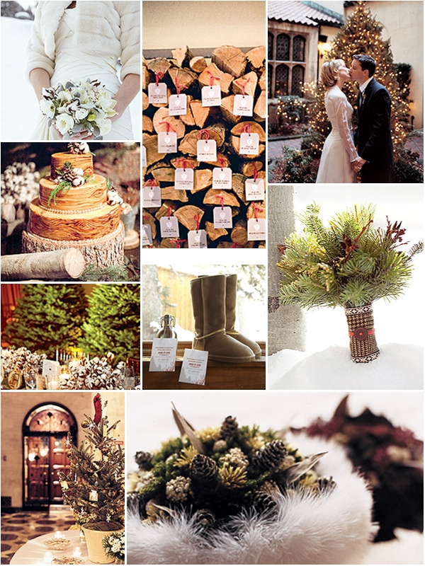 ideas inspiration winter wedding